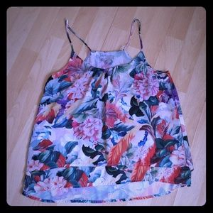 H&M Floral Layered Cami